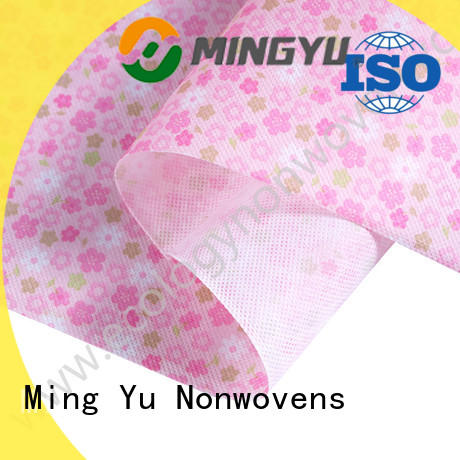 Ming Yu Wholesale pp spunbond nonwoven fabric Suppliers for package