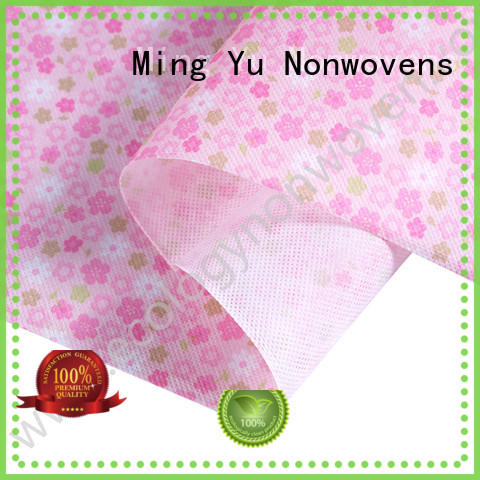 Ming Yu moistureproof pp spunbond nonwoven fabric handbag for handbag